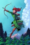Tauriel colored by NJValente