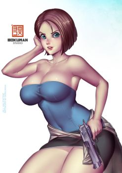 Jill Patreon by bokuman