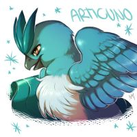 Articuno Commission by Aishishi