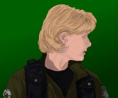 Stargate SG-1: Sam Carter by starryeyed-nz