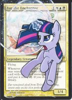 mtg Altered - Zur the Enchanter Twilight Sparkle by ClaarBar