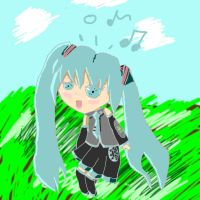 miku tablet ver. by firesword7