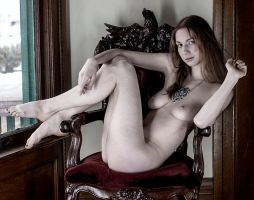 Artistic Nude 1 by Nyxiin-the-Vyxiin