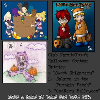 Contest 2 VOTE FOR YOUR FAV by NarutoXOXO