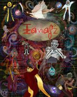 Izanagi cover for the Novel version by AnYingZee