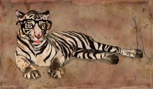 Ambiguous Orientation Tiger by surlana