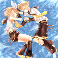 Kagamine Twins by Yamicchi