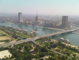 Cairo Skyline by MEEMOZAD