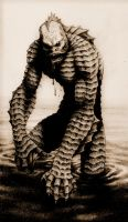 CREATURE FROM THE BLACK LAGOON by aka-maelstrom