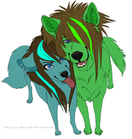 Scene Mutt: Brother, Sister by Free-Fall-Angel