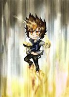 Tsuna keychain in sky battle by Neko6