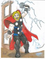 Avengers Thor by Crash2014