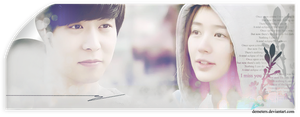 I Miss You Signature Banner by demeters