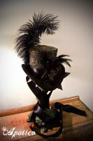 Brocade Mini Top Hat by apatico