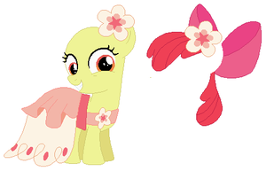 Gala Apple Bloom Base by SelenaEde