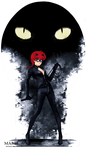 Ranma/Catwoman- Crossover by MariaAart