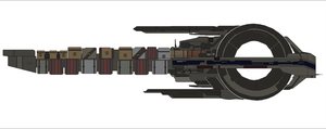 Mass Effect Quarian Cruiser by Seeras