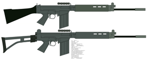 FN FAL by kfirpanther3