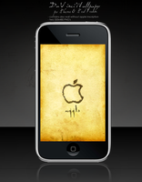 DaVinci APPLE Wallpaper by 000tmk