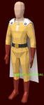 Low Poly Saitama by EEEnt-OFFICIAL