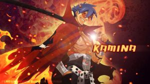 Kamina Wallpaper by Hallucination-Walker