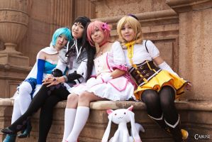 Magical Girls - Sisters by cabusi-photography