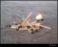 Matches Lightened. by X-Kal