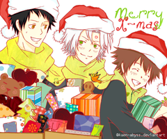 Merry Xmas Gift~! by Raen-abyss