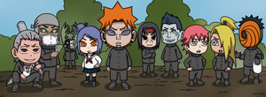 Akatsuki Gang by Staceyk93
