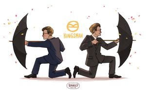 Kingsman by l3onnie