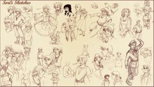 Other Series of Sketches 2 by Sori-Chan