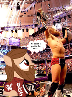 Daniel Bryan Reflects by PretentiousProdigy