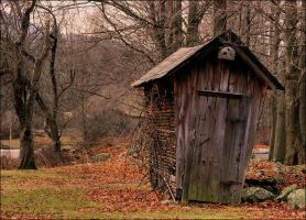 Corn Crib by scootergirl762
