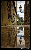 Reflection Of The Lamp by Aygor