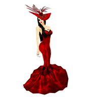 Lady in red 2 by elly05