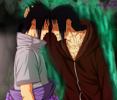 Itachi and Sasuke 590 by ksop