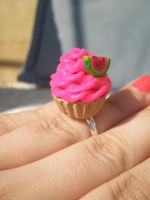 Watermelon Cupcake by pampalluga