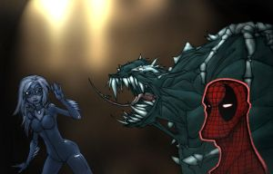 Spiderman_Poison Sense by Gambear1er