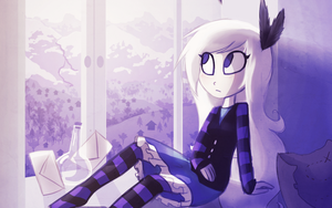 Daydreaming by MissButlerArt