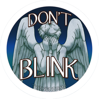 Dont blink button by TwinEnigma