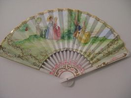 Hand-painted Fan by ColeV