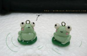 froggy charms by michouse