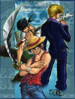 Sanji + St Patricks contest 9 by OnePieceUnlimited