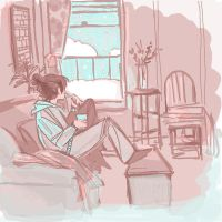 snow day ice cream 4 breakfast by thepapermouse