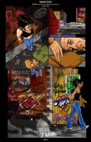 MONSTERS web comic page by spectremanLIVE