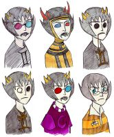 Sollux avatars by Jowy10