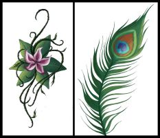 More tattoos by FarArden