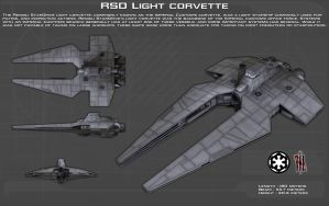 Imperial Customs Light Corvette ortho [New] by unusualsuspex