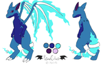 Comm - Dragon OC Reference by VibrantEchoes