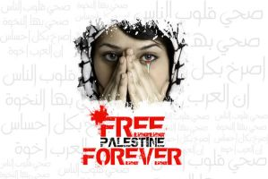Free Palestine by The-Lonely-Wolf